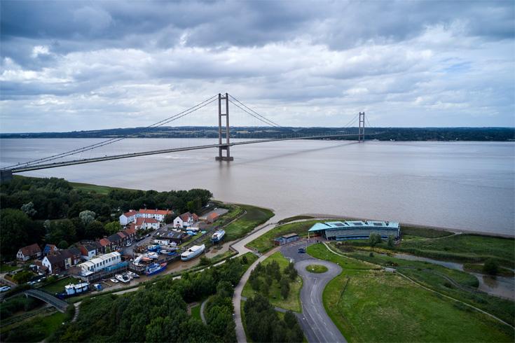 Photograph of Humber Bridge